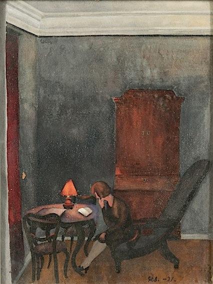 Greta Hällfors-Sipilä. Reading Girl, 1931