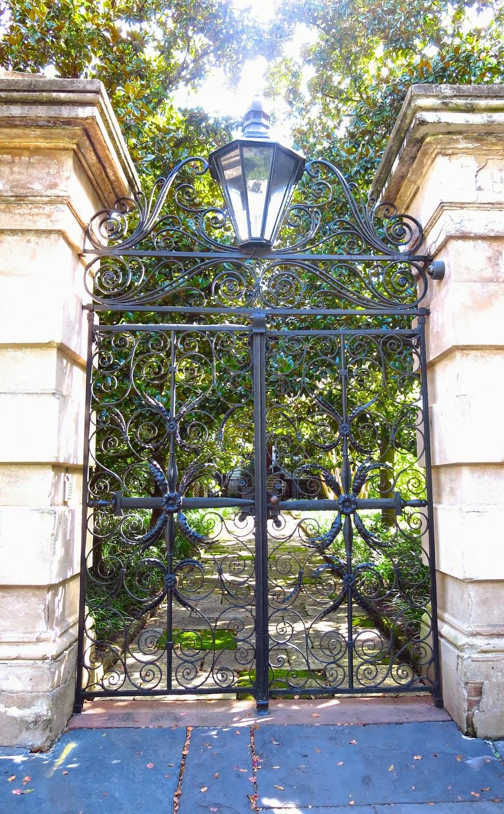 Through the charmed gates of charleston interior homes