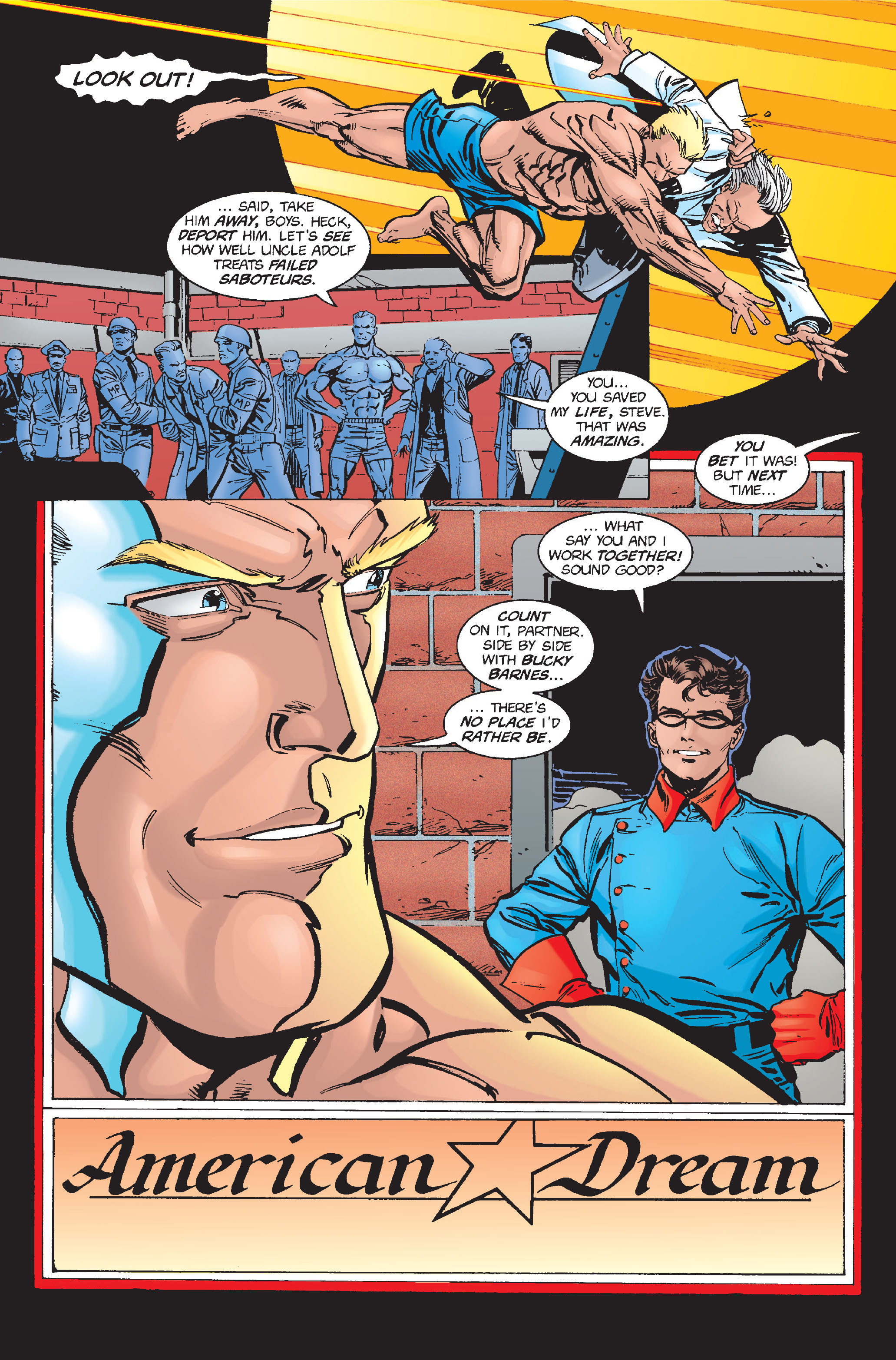 Captain America (1968) Issue #448 #402 - English 5