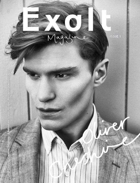 Oliver Cheshire Exalt Magazine Cover