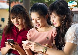 Khuyến mãi tặng 100% data 3G Viettel trọn gói