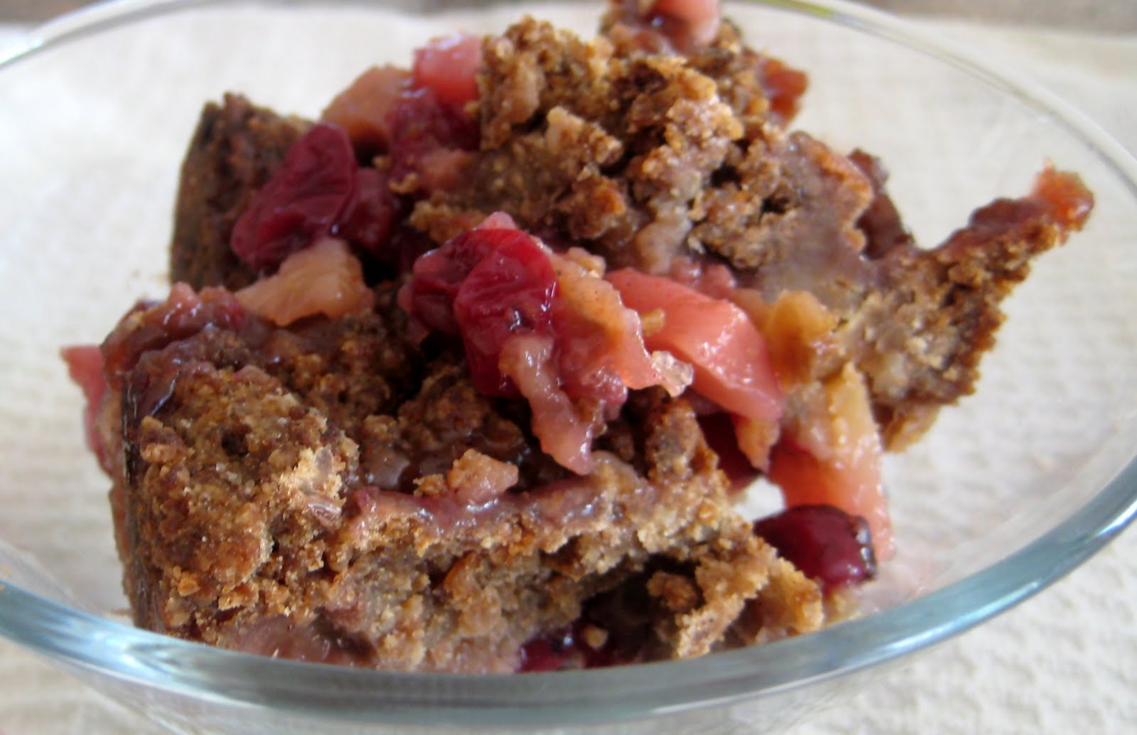 Pear Cranberry And Gingersnap Crumble Recipe — Dishmaps