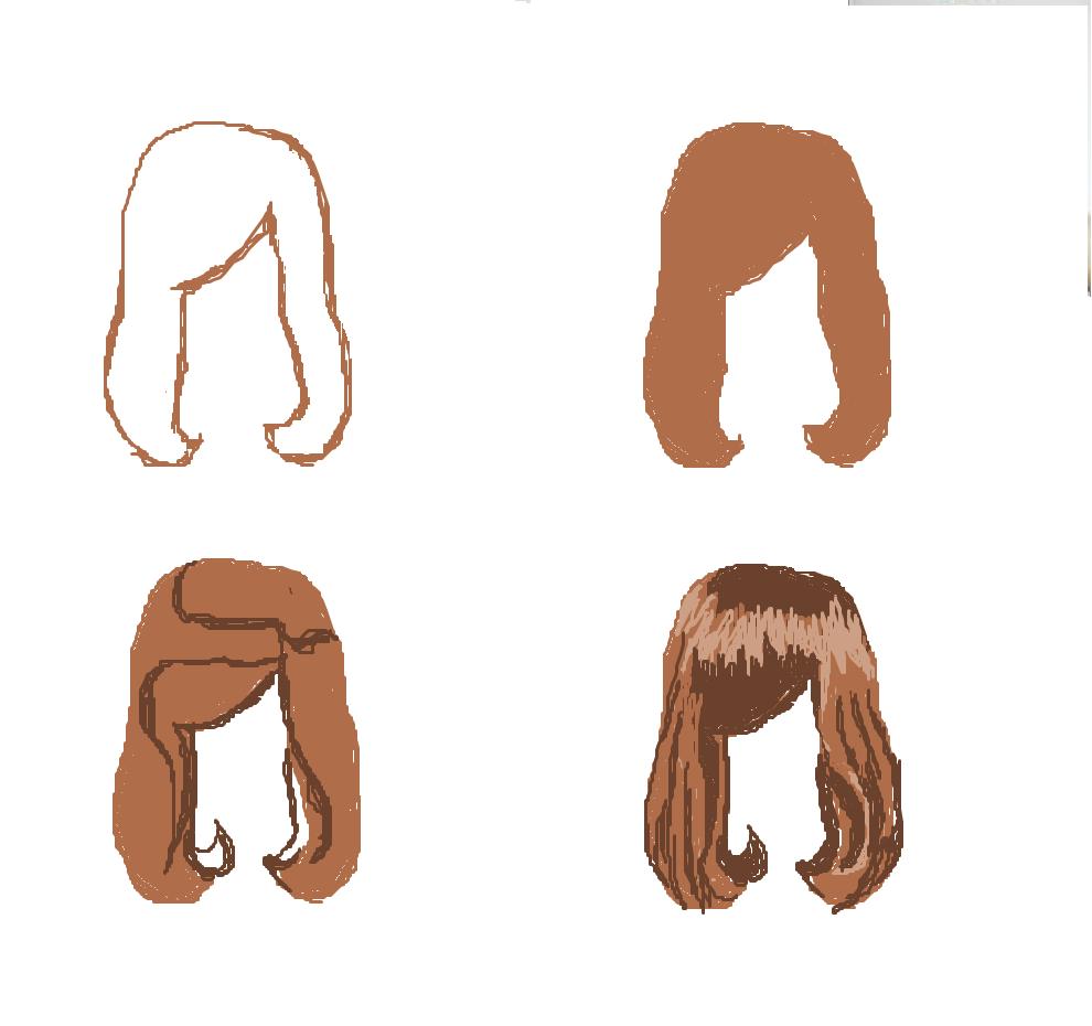 El tratamiento de la caída de reacción de los cabello