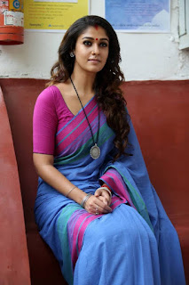 Actress Nayantara Latest Stills in Saree from Puthiya Niyamam Movie 25282