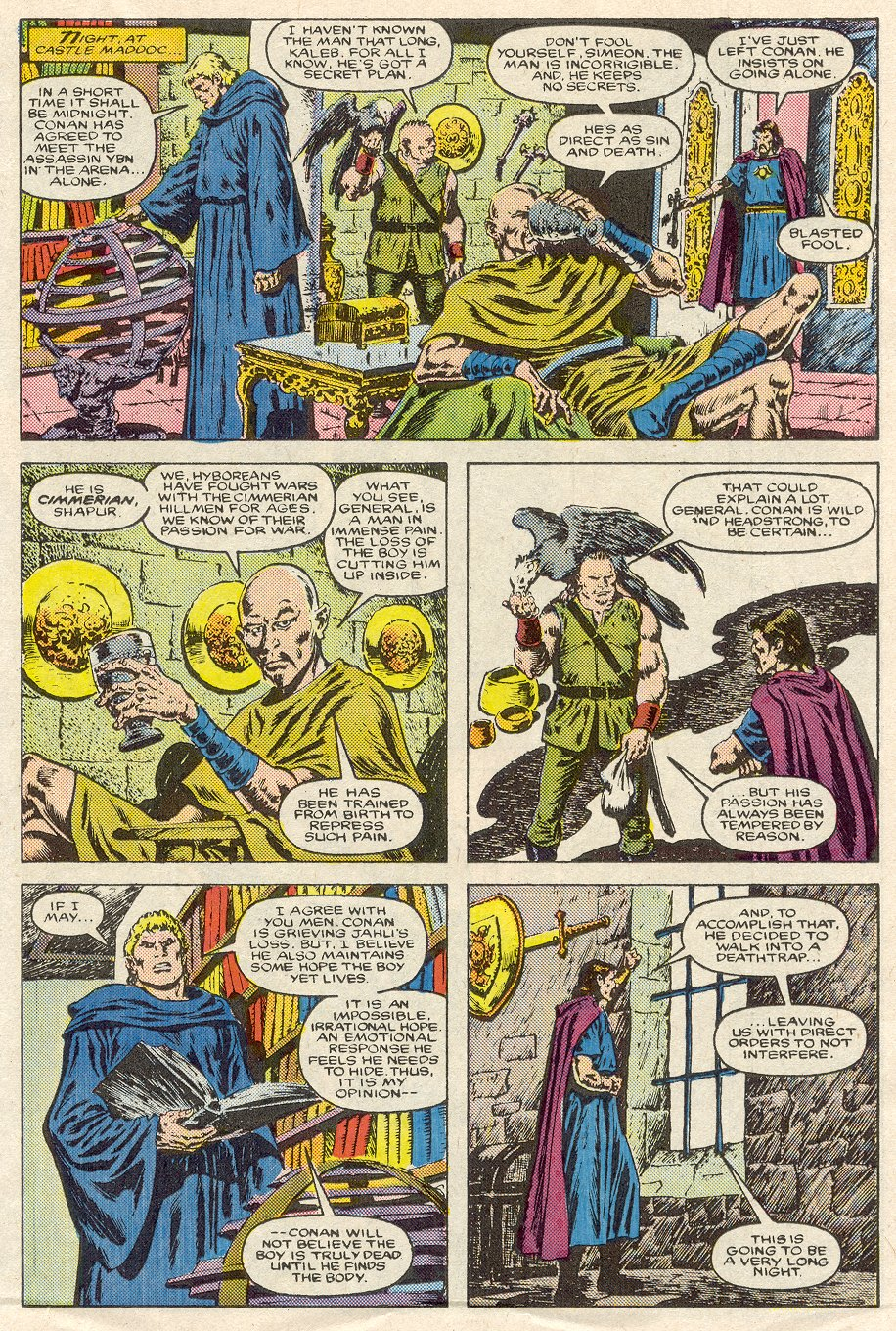 Conan the Barbarian (1970) Issue #188 #200 - English 12