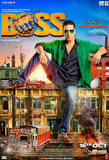 Boss (2013) Movie Poster