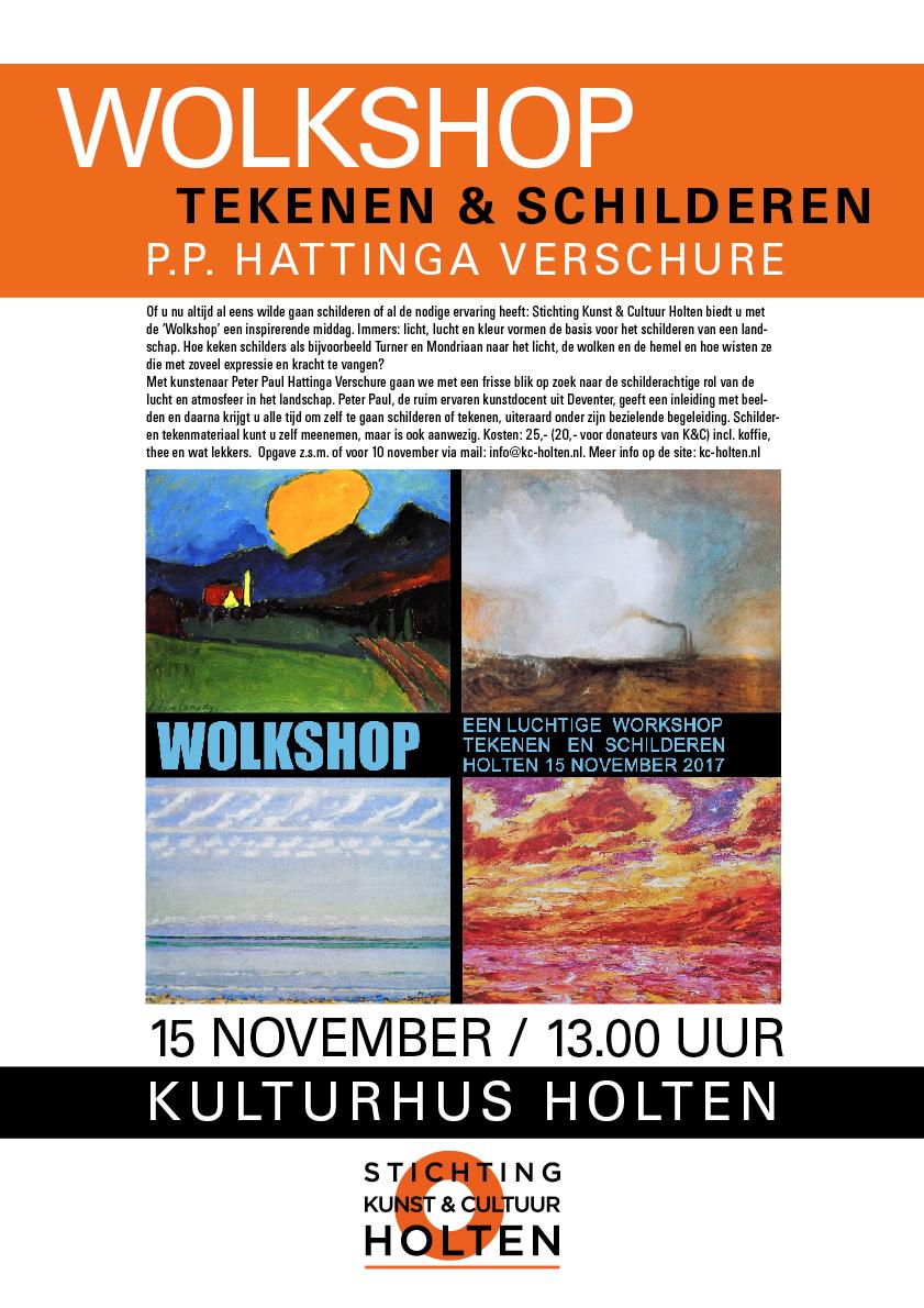 Poster voor de Stichting Kunst & Cultuur 2017