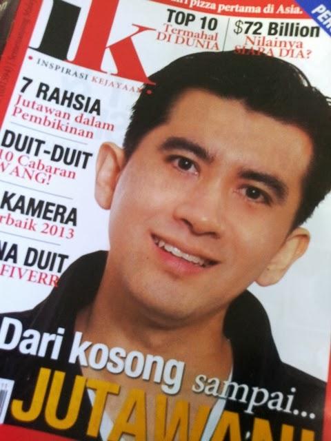 Irfan Khairi usahawan internet Malaysia yang berjaya