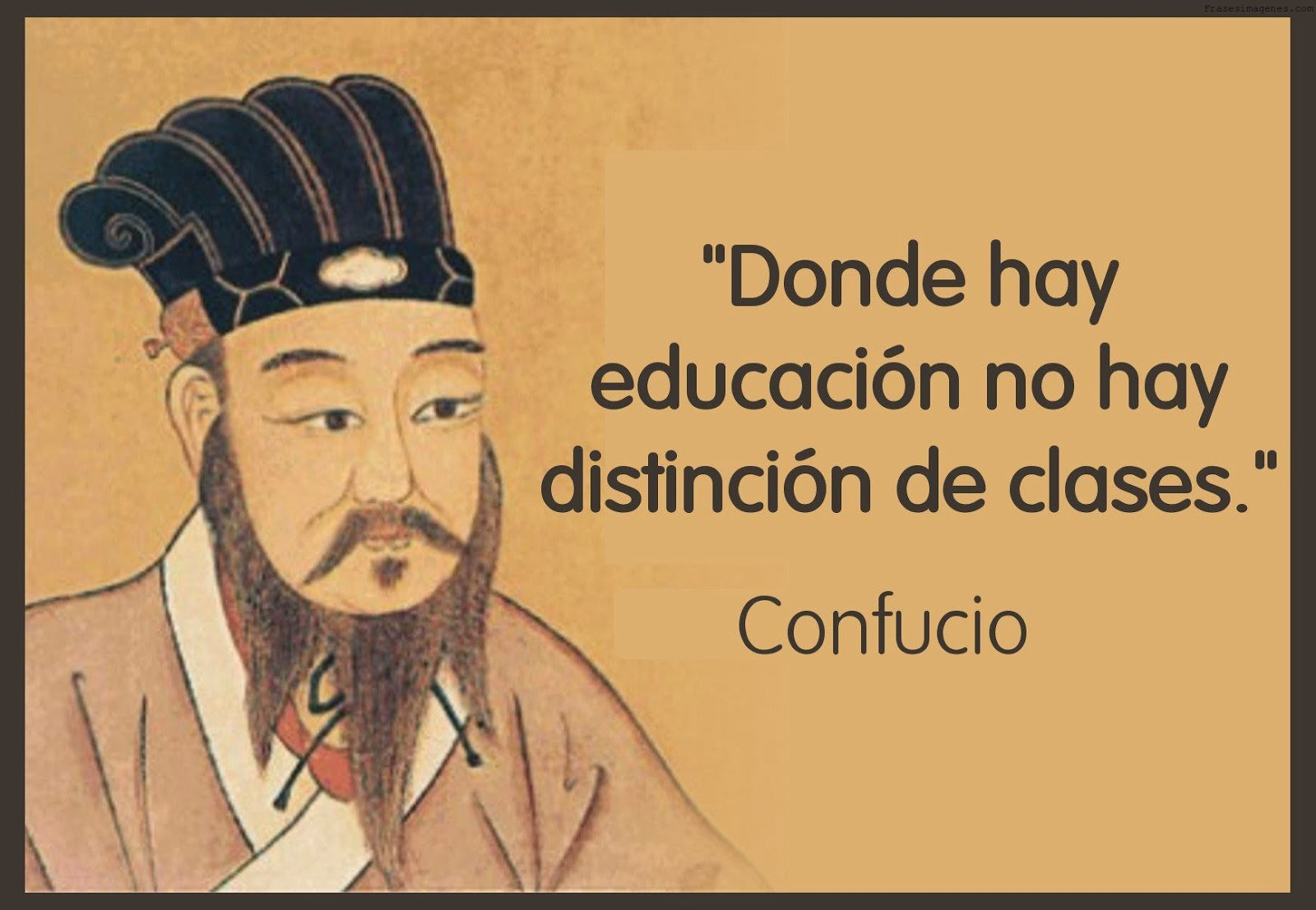 Se sabe que donde llega a haber educación