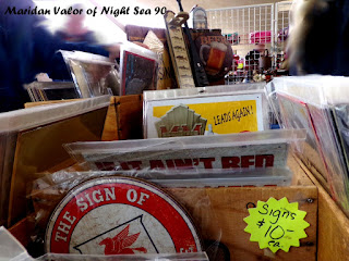 Local fair under the freeway; Night Sea 90.