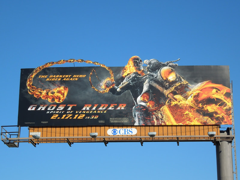 Ghost Rider Spirit of Vengeance billboard