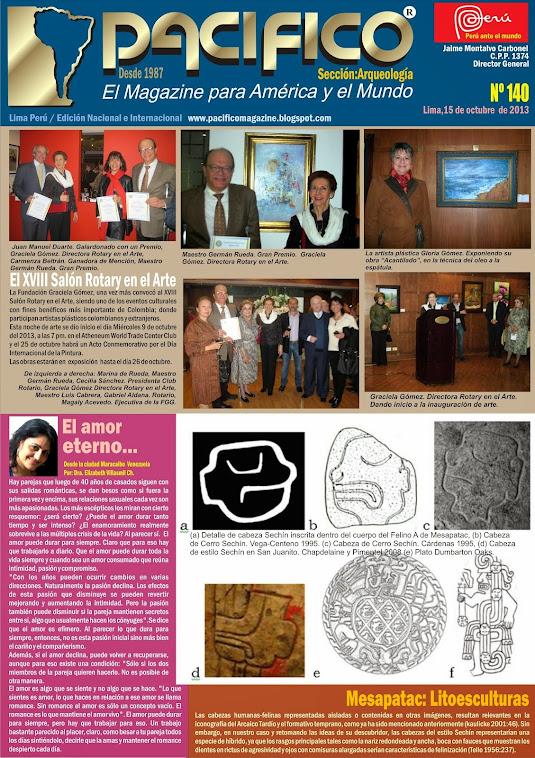 Revista Pacífico Nº 140 Arqueología