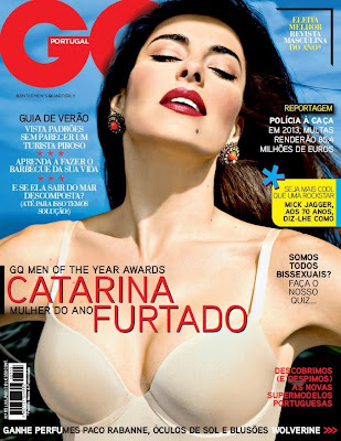 Fotos Catarina Furtado GQ Agosto