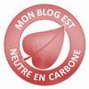 mon blog est neutre en carbone!
