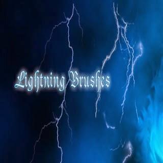 lightning brush pack for Ps