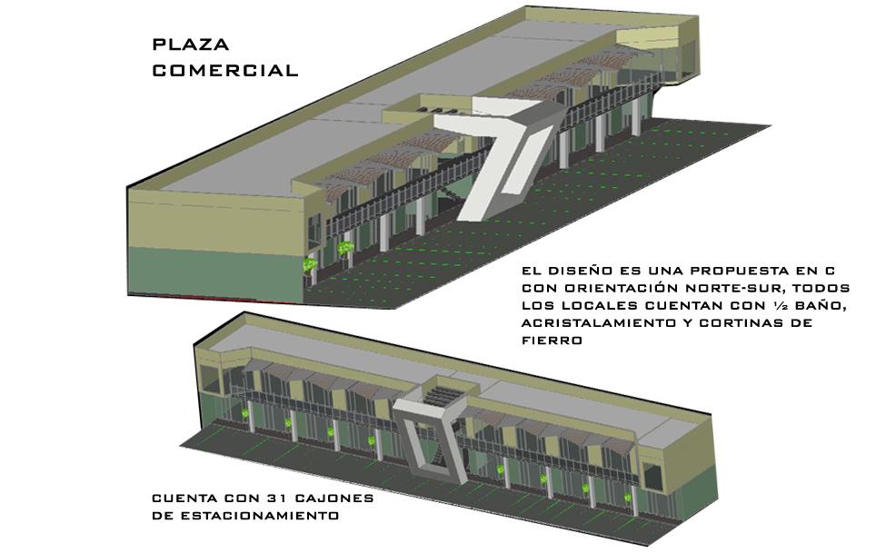 Plaza comercial g g arquitectura y dise o - Paginas de arquitectura y diseno ...