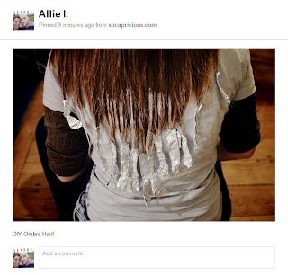 Pinterest Diys Diy Ombre Hair