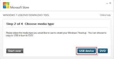 выбираем тип - USB device