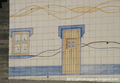 casinha alentejana, fachada