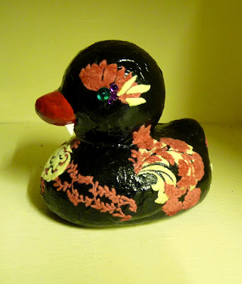Whoopidooings - Carmen Wing: Altered Rubber Duck - Count Duckula - Vampire