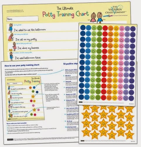 Potty Training Chart Victoria Chart Company