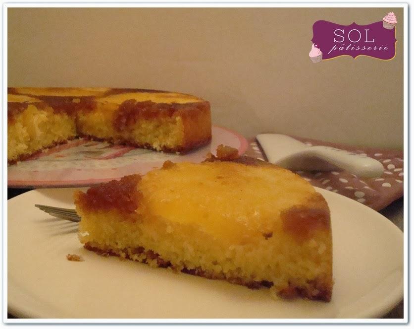 Gâteau renversé à l'ananas - Bolo invertido de abacaxi