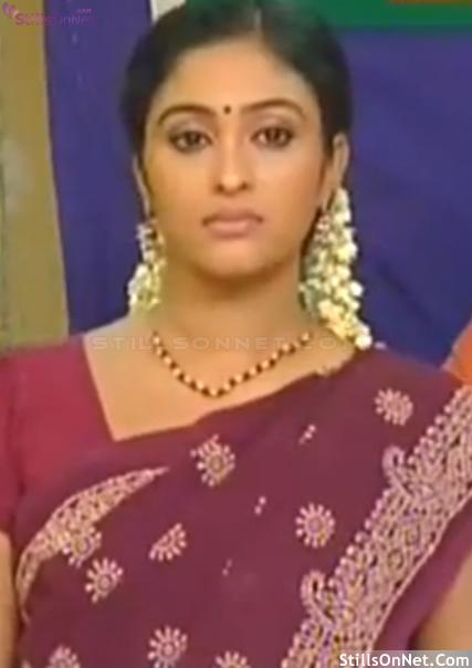 Tv Actress Sreeja Chandran Saravanan Meenakshi Serial In Vijay