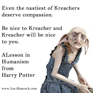 Every Kreacher deserves compassion: Humanism and Harry Potter