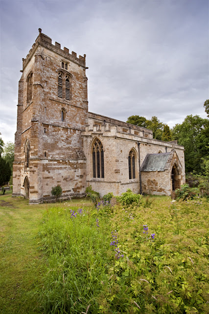 St Micheal's church in Great Tew in the Cotswolds by  Martyn Ferry Photography