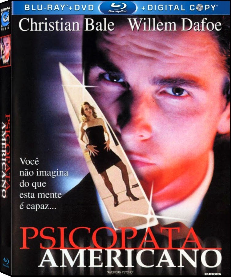 Capa+Blu+Ray+2 Download Psicopata Americano (2000) BDRip Bluray 720p Dublado