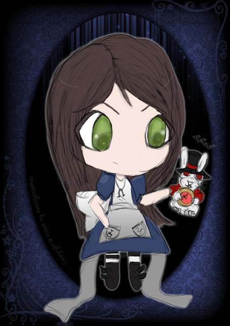 Chibi Alice por KimmyPeaches