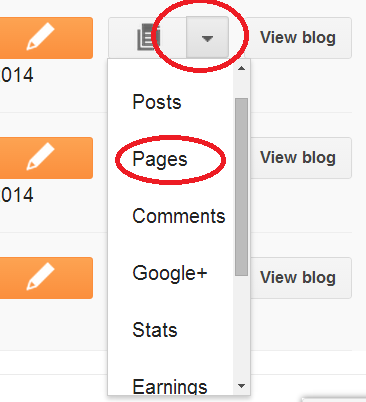 how-to-create-page-on-blogger