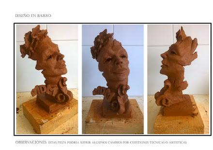 """Diseño en barro - premio"""" lo mejon de lo mejon"""" 2016"""