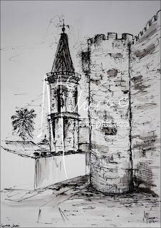 Castillo e iglesia, 2012.Mcchueco