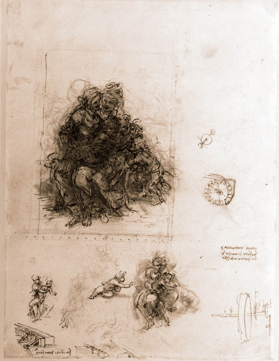 an analysis of the two artworks entitled virgin and child Description of leonardo da vinci's virgin of the rocks (madonna of the rocks), now housed at the louvre in paris the gestures and glances among the figures results in a more dynamic portrayal of the virgin and child that seen in earlier renaissance paintings.