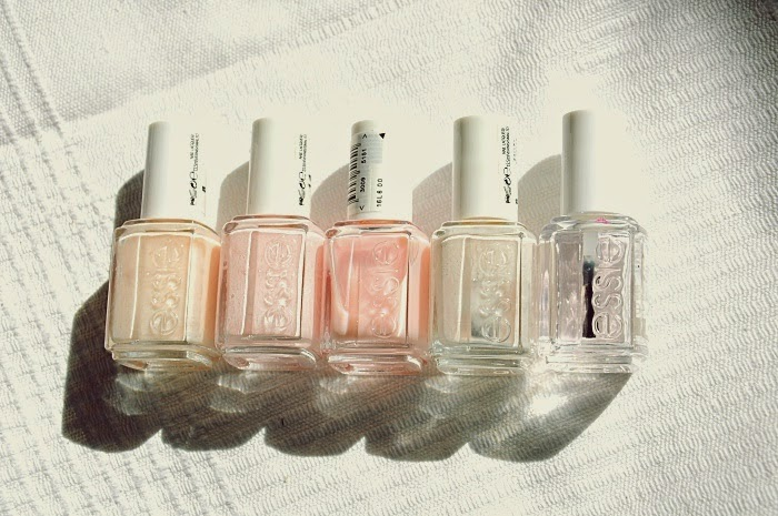 essie nude, limo-scene, fiji, mademoiselle,  ballet slippers, good to go