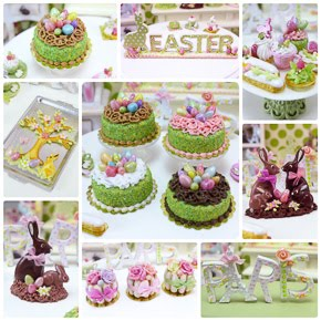 Easter Miniatures on Etsy!