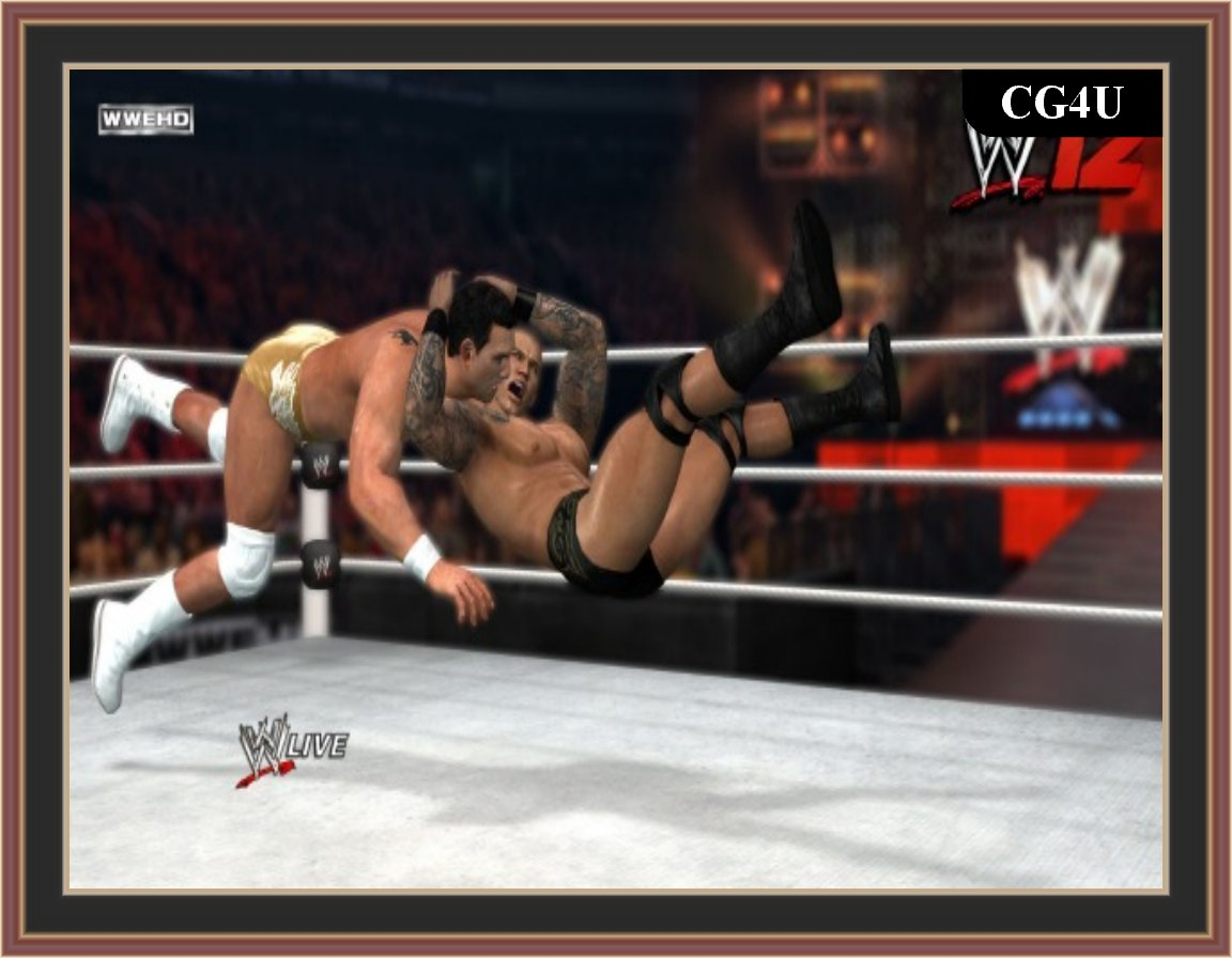 WWE '12 Pc Game ScreenShot