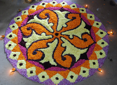 Diwali 2011 Rangoli Design &a  <a href=