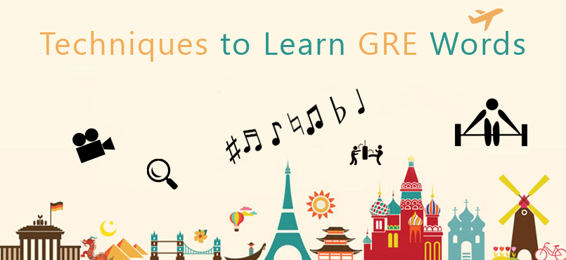 Techniques for learning GRE words/terms