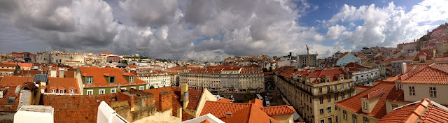 Rooftop view of Lisbon on Semi-Charmed Kind of Life