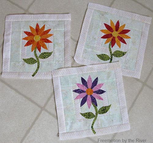 Daisys in Full Bloom batiks