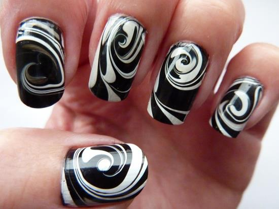 White Crackle Nail Polish Designs Hession Hairdressing