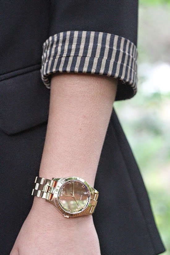 Boyfriend Blazer and Watch