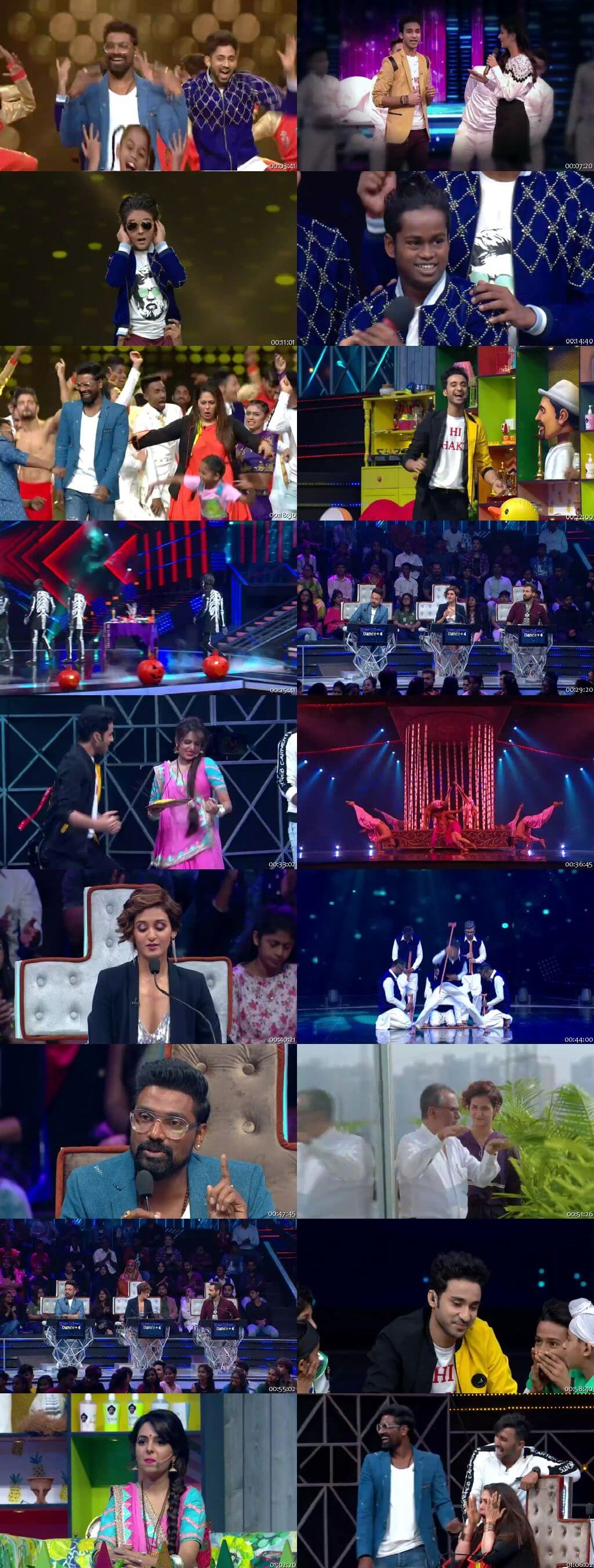 Screenshots Of Hindi Show Dance Plus Season 04 17th November 2018 Episode 12 300MB 480P HD