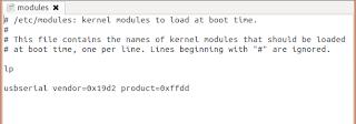 usbserial vendor=0x19d2 product=0xffdd