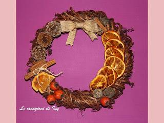 Le creazioni di ivy regali fatti a mano for Arance essiccate decorazioni