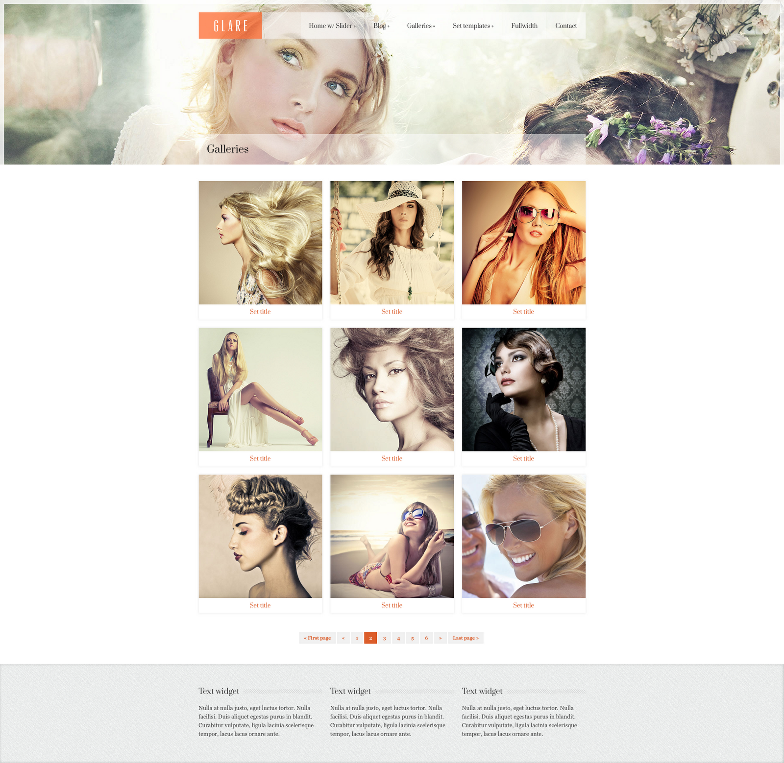 Glare-Photography-Portfolio-HTML5-and-CSS3-2-Columns-Image