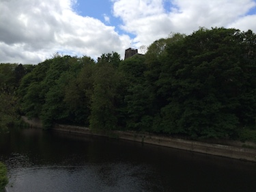 Chuck and Lori's Travel Blog - Durham England from the River Wear
