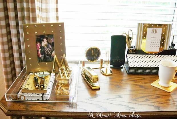 Gold Office Desk Accessories